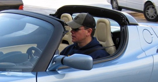 matt damon tesla