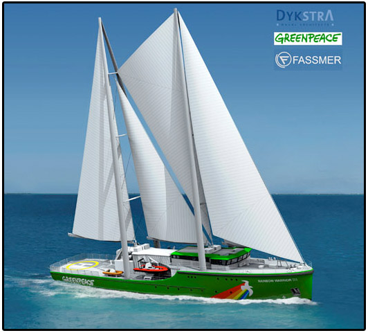 greenpeace boat, rainbow warrior III