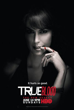 True Blood Season 2 Character Television Poster - Michelle Forbes as Maryann