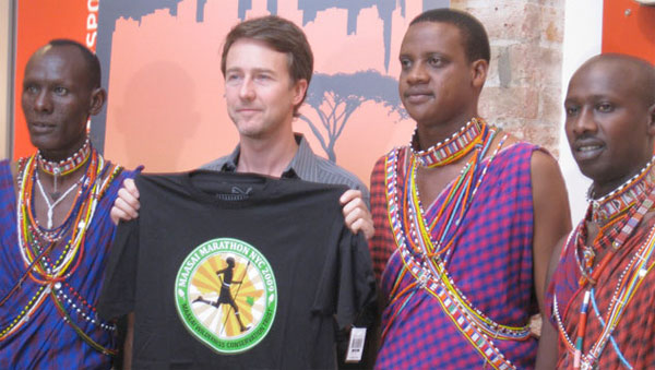 edward norton, maasai
