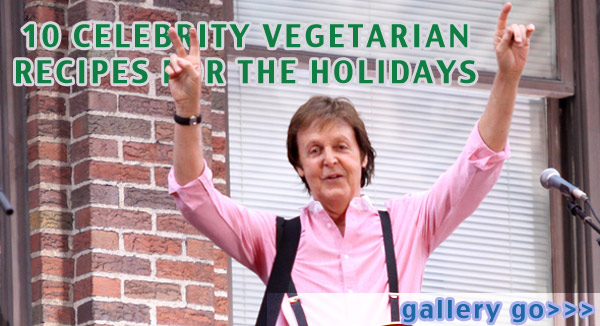 paul mccartney, vegetarian