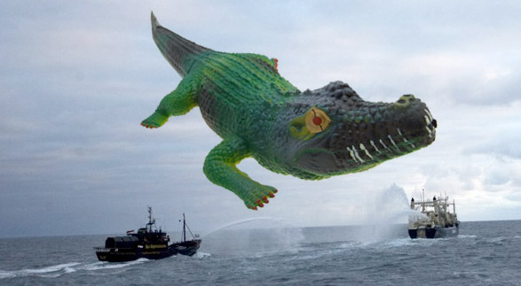 Crocodile Hunter Steve Irwin Honored In Latest Sea Shepherd Assault