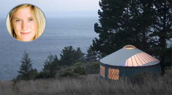 yurt, hannah teter, off-grid, solar, wind
