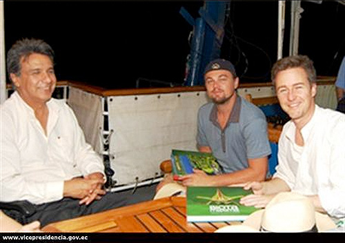 dicaprio, edward norton, environment