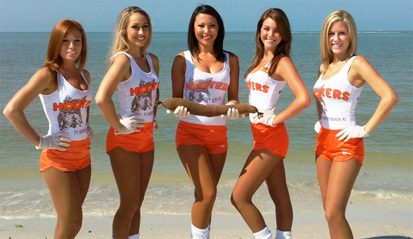 hooters girls bp