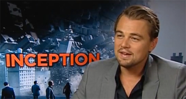 dicaprio, inception, environment, BP, oil spill