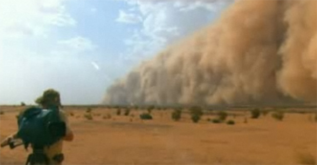 giant sandstorm, natural disaster, national geographic, great migrations