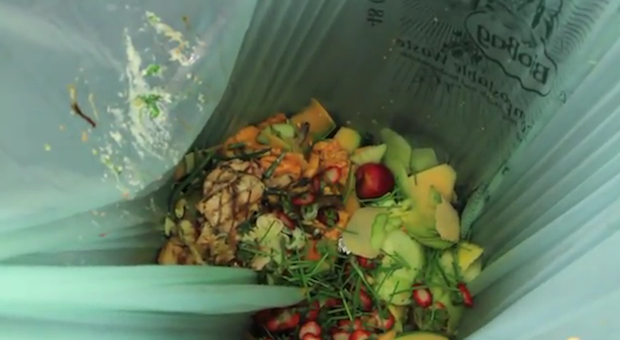The JW Marriott will test a food composting program during Super Bowl week.
