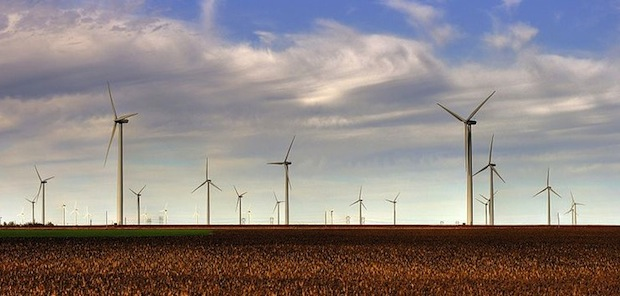 The NFL will use renewable energy from wind farms in the 2012 Super Bowl.