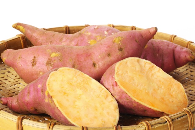 Sweet potatoes are good sources of magnesium and beta carotene.