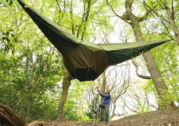 Alex says the tent ... & Tentsile: Portable Treehouse and Hammock in One! : Ecorazzi