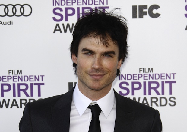 "Ian Somerhalder wants to green the ""Vampire Diaries"" set by using eco-friendly generators."