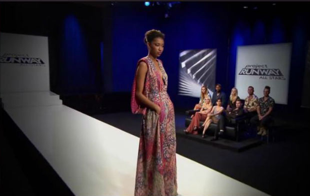 Project Runway All Stars go green with eco-friendly red carpet designs