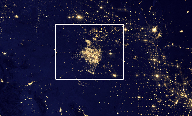 nasa north dakota fracking