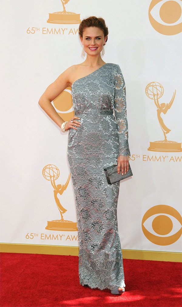 emily deschanel 2013 emmy awards